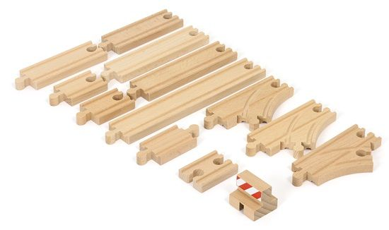 Coffret De Demarrage - 13 Rails - Pack B BRIO (3 ans +)