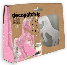 Mini kit Licorne (Decopatch)