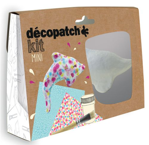 Mini-kit dauphin (Decopatch)