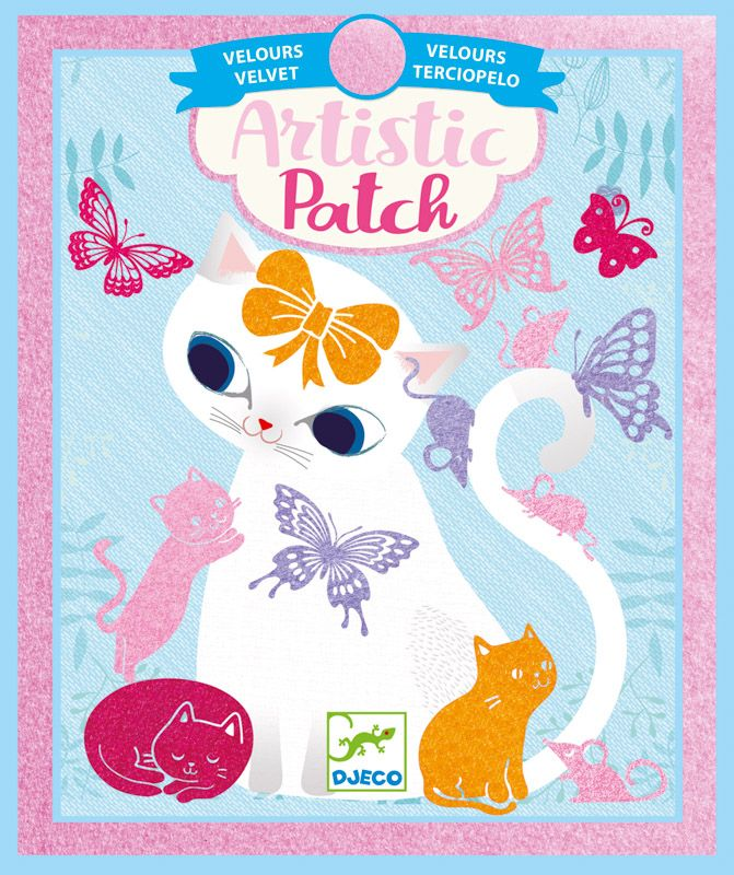 Artistic Patch - Little pets (Collages Djeco)