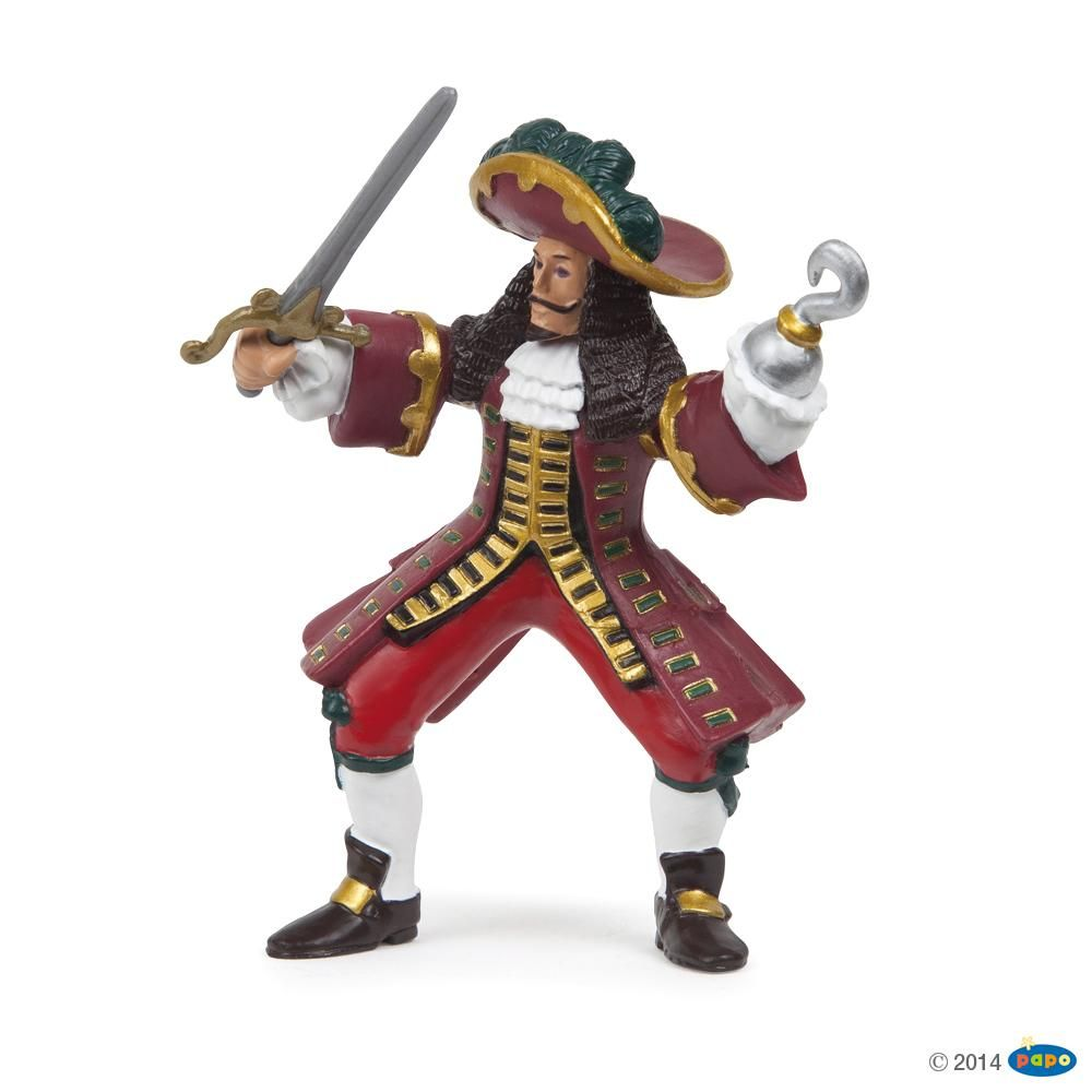 Capitaine pirate, Figurine des Pirates & Corsaires Papo