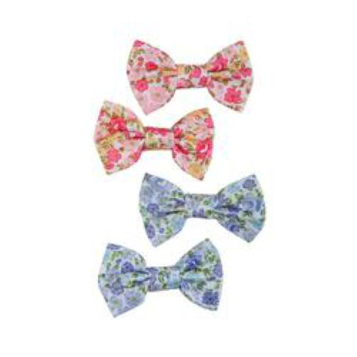 Barettes Boutique Liberty Beauty Bows Hairclips, 2 pcs assorties
