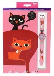 [AXE_606146] Montre Zap – Chats