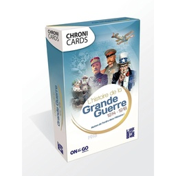"[CLD_00331] Chronicards ""La Grande Guerre (14-18)"" (On The Go)"