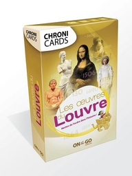 "[CLD_40711] Chronicards ""Les Oeuvres du Louvre"" (On The Go)"