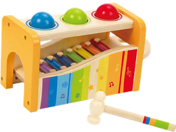 [EDU_E0305] Pound and Tap Bench HAPE EarlyMelodies