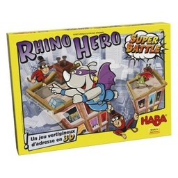 [HAB_302809] Rhino Hero - Super Battle,  Jeu Haba